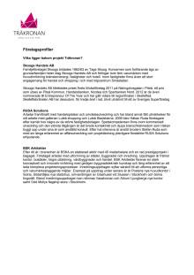 Träkronan - Företagsprofiler