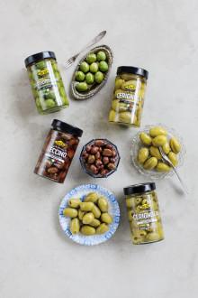 Zeta italienska oliver med förfinad smak