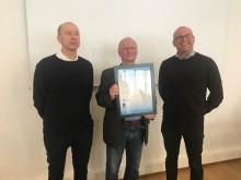Vannprisen 2018 gikk til Svein Erik Moen