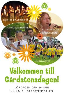 Familjedag i Gårdsten - Gårdstensdagen 14 juni