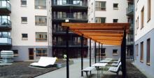 Ebab-projekt vinner europeiskt hållbarhetspris för studentboende i Norra Djurgårdsstaden