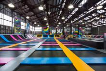 Bounce Trampoline parks öppnar norra Europas största hoppland i Sverige