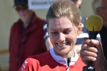 Emma Johansson vann i stor stil, nytt SM-guld i linje