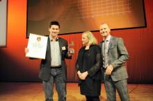 Engconille myönnetty Mästarnas Mästare -palkinto eniten Gaselli-tunnustuspalkintoja saaneena ruotsalaisyrityksenä