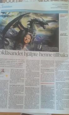 Pebbles Karlsson Ambrose intervjuad i dagens DN och stipendiat i Sala