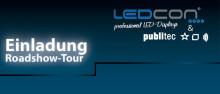 Einladung zur LEDCON Roadshow 2015