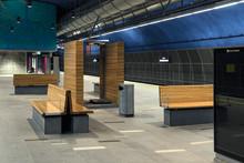 Løren stasjon er en av fire finalister som kan vinne Betongtavlen 2017