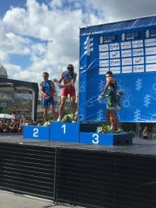 Kristian Blummenfelt tok andreplassen i dagens løp i World Triathlon Series (WTS)