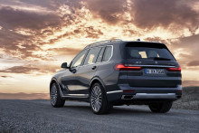 Den helt nye BMW X7