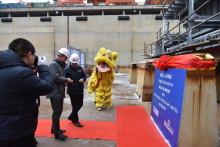 Die neuen Stena Line-Fähren nehmen Form an