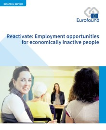 More than one in four working-age adults in the EU remain economically inactive