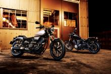 「BOLT ABS」「BOLT Rスペック ABS」をカラーチェンジ シンプルなスタイルを追求したクルーザーモデル