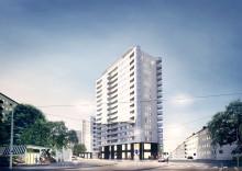 Skanska bygger flerbostadshus med 158 lägenheter i centrala Göteborg för 377 miljoner kronor
