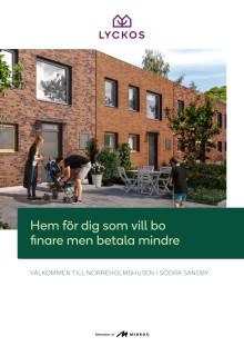 Nybyggnad i Södra Sandby, utanför Lund