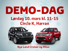 Demo-dag på Circle K Harran