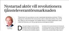 Artikel om Th1ng i Svenska Stadsnätsföreningens tidning stadsnätsmagasinet