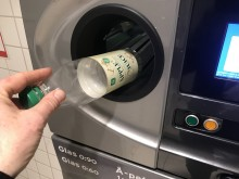 Succé för pant på Garants juice i plastflaskor