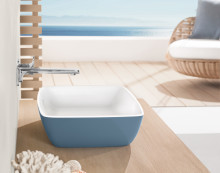 Delicate functionality in colour –The new, inspiring colour schemes for the Artis bathroom sink series.