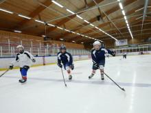 Byn med Europas största hockeyskola
