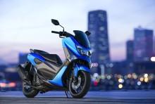 軽二輪スクーター「NMAX155 ABS」をカラーチェンジ 手軽なサイズ感で高速道路も走れるアクティブなシティコミューター
