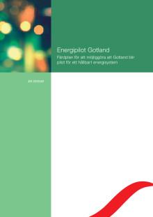 Rapport: Energipilot Gotland