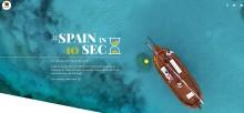TURESPAÑA lanserar kampanjen Spain in 10 seconds