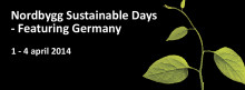 Säkra dina biljetter till Sustainable Days – featuring Germany