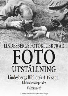 Lindesbergs Fotoklubbs jubileumsutställning i repris