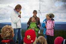 Dunder och Storm - nu är Mullbergs vindpark invigd