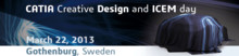 Dassault Systèmes bjuder in till CATIA Creative Design and ICEM 2013
