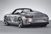 Porsche 911 Speedster Concept: åben, puristisk og over 500 hk