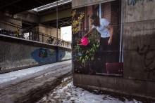 Fotoutställning på Stockholms gator  – urban konst ger journalistiken ett helt nytt liv