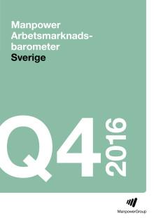 Rapport Manpower Arbetsmarknadsbarometern Q4 2016