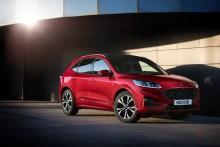 Nya Ford Kuga får högsta säkerhetsbetyget av Euro NCAP