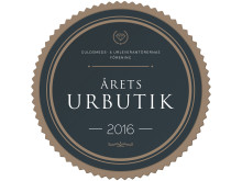 Årets Urbutik 2016 - Daniel Lundin Urhandel