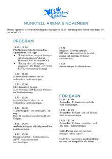 Program mässa 2010