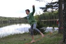 I sommer kan ungdom utforske marka og teste egne grenser i Oslo Sommerpark.