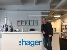 Axel Bergström ny digital marknadsförare på Hager Elektro AB