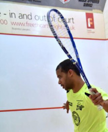 Team Salming Ambassador Adrian Grant makes Salming Aero Forza his racket of choice.