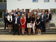 Hotelbetriebswirte der Hotelfachschule Leipzig wurden am 22. Juni 2016 feierlich verabschiedet
