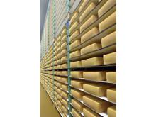 Arla yellow cheese production