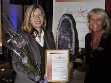 Steningevik blev Årets Ametist 2010