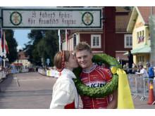 Segerpuss! CykelVasans segrare Jesper Dahlström