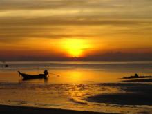 Solnedgång Thailand