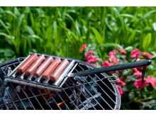 Man Law – BBQ-Halster för varmkorvar