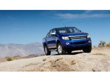Den helt nye Ford Ranger debuterer med mere power, kapacitet og teknologi