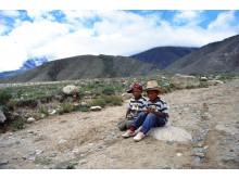 Tibet, Chuchur, Ü-Tsang, Schools - Erik Törner 2003