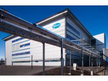Pfizers nya fabrik för bioteknologisk tillverkning i Strängnäs
