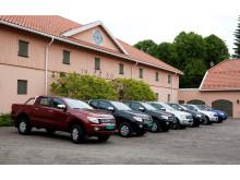 Nye Ford Ranger lanseres i disse dager i Norge