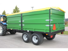 Multitrailer tippvagn